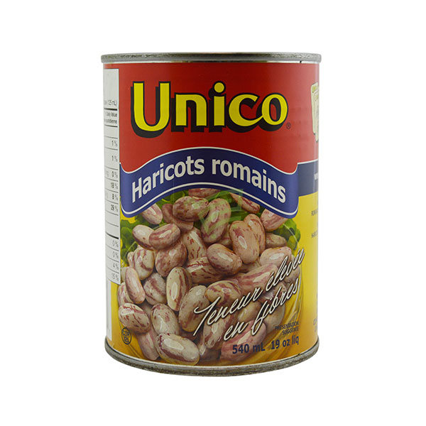 Indian grocery online - Unico Romano Beans 540Ml - Cartly