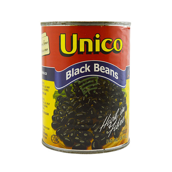 Indian grocery online - Unic Black  Beans 540Ml - Cartly