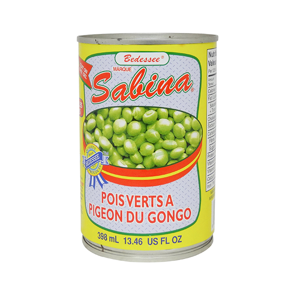 Indian grocery online - Sabina Green Peas 398Ml - Cartly