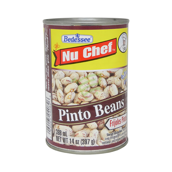 Indian grocery online - Nu Chef Pinto Beans 398Ml - Cartly