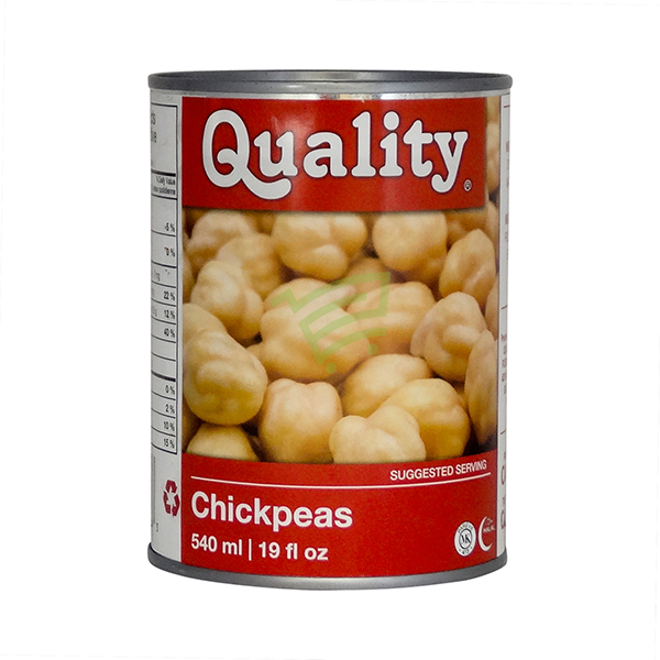 Indian grocery online - Quality Chick Peas 540Ml - Cartly