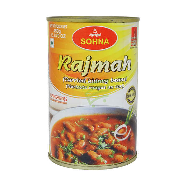 Indian grocery online - Sohna Rajma In Can 450G - Cartly