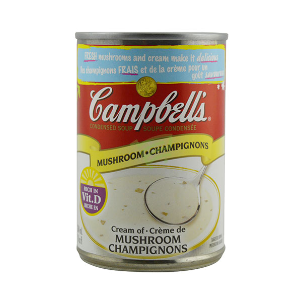 Indian grocery online - Campbell' Cream Of Mushroom 284Ml - Cartly