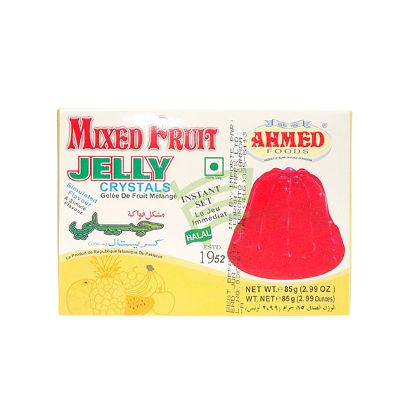 Indian grocery online - Ahmed Jelly Crystals Mixed Fruit 85G - Cartly