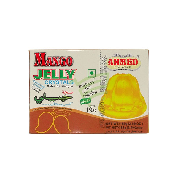 Indian grocery online - Ahmed Jelly Crystals Mango 85G - Cartly