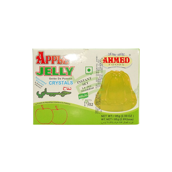 Indian grocery online - Ahmed Jelly Crystals Apple 85G - Cartly