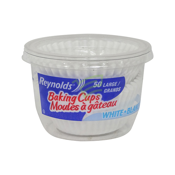 Indian grocery online - Reynolds Baking Cups Large 50's - Cartly