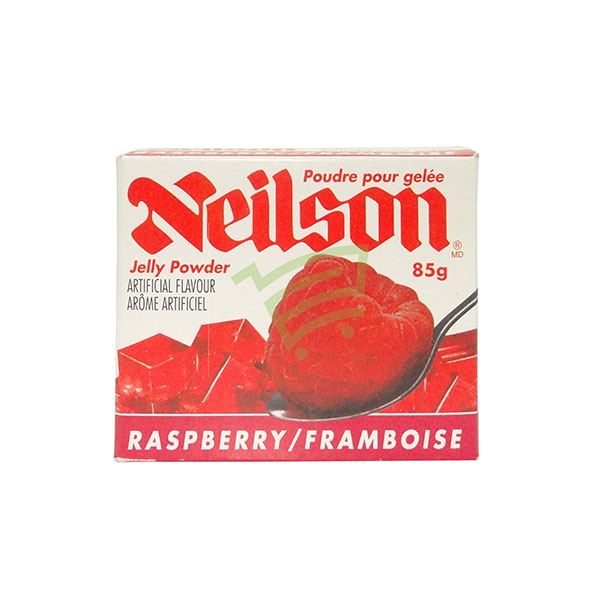 Indian grocery online - Neilson Jelly Powder Raspberry 85G - Cartly