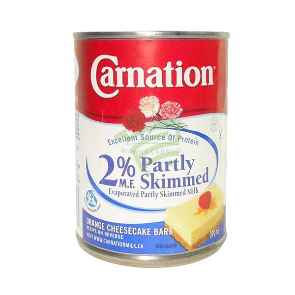 Indian grocery online - Carnation 2% Partly Skimmed Milk 370Ml - Cartly