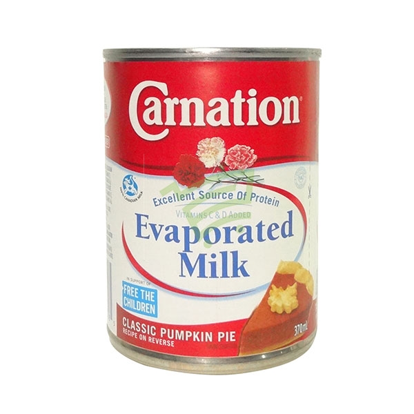 Indian grocery online - Carnation Evaporated Milk 370Ml - Cartly