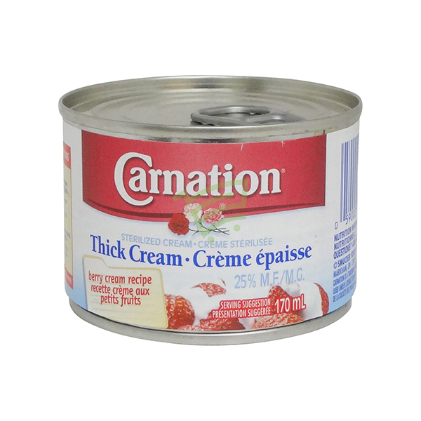 Indian grocery online - Carnation Thick Cream Strawberry 170Ml - Cartly