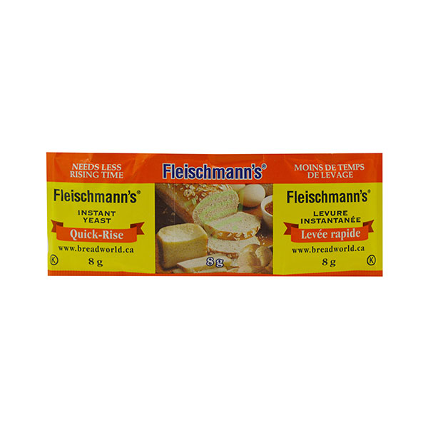 Indian grocery online - Fleischmann's Instant Yeast 8G - Cartly