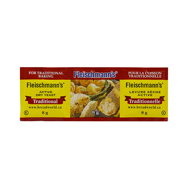Indian grocery online - Fleischmann's Active Dry Yeast  8G - Cartly