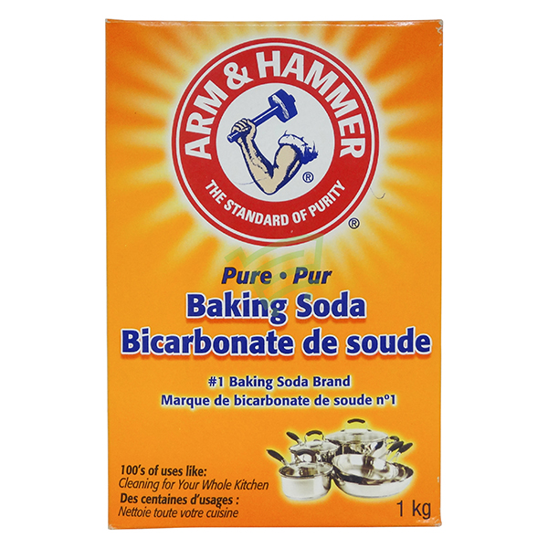 Indian grocery online - Arm & Hammer Baking Soda 1Kg - Cartly