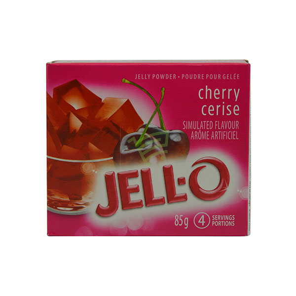 Indian grocery online - Jell-O Cherry Jelly Powder 85G - Cartly