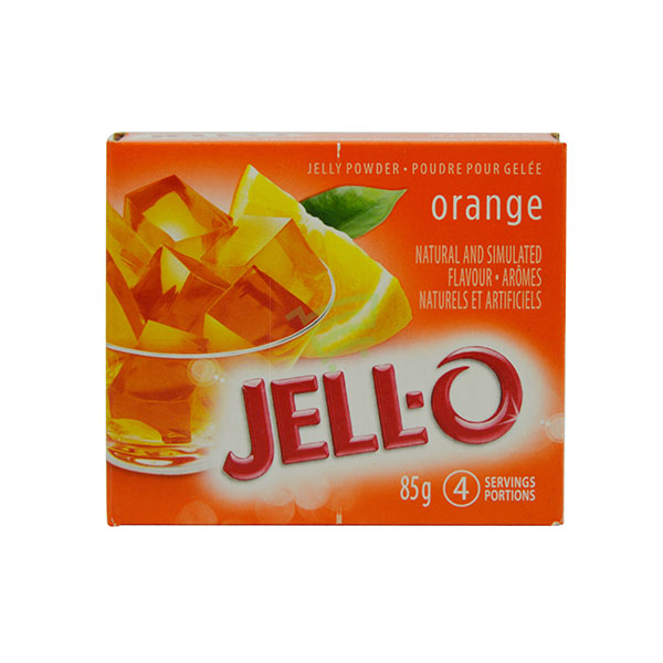 Indian grocery online - Jell-O Orange Jelly Powder 85G - Cartly