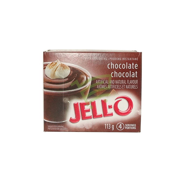 Indian grocery online - Jell-O Chocolate Instant Pudding 113G - Cartly