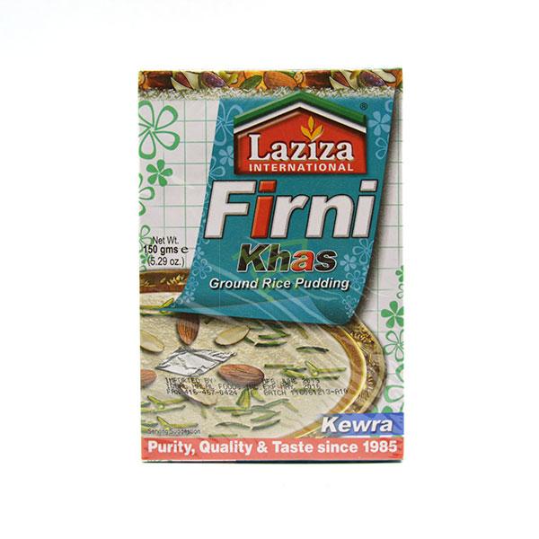 Indian grocery online - Laziza Firni Khas Ground Rice Pudding Kewra 150G - Cartly