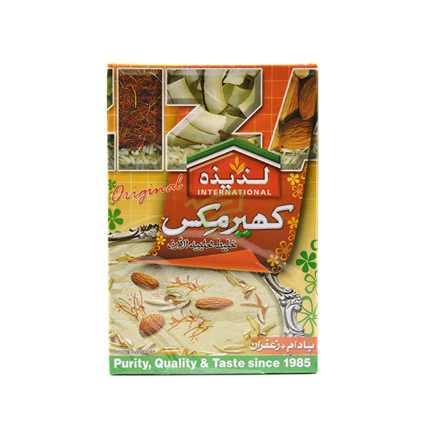 Indian grocery online - Laziza Kheer Almond & Saffr 150G - Cartly