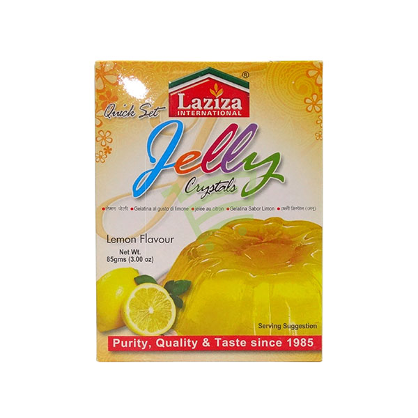 Indian grocery online - Laziza Jelly Lemon Flavour  85G - Cartly