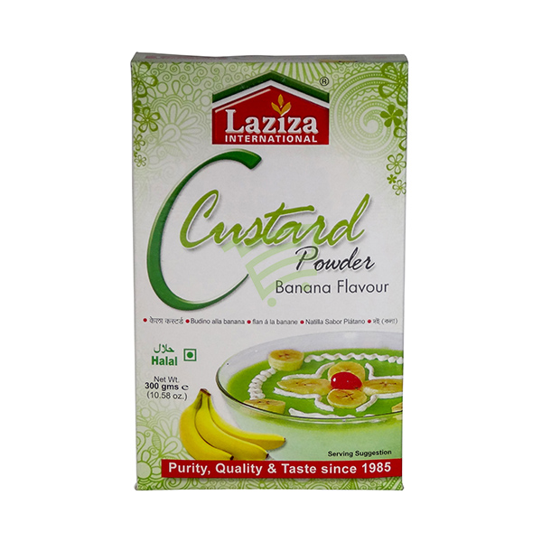 Indian grocery online - Laziza Custard Powder Banana 300G - Cartly