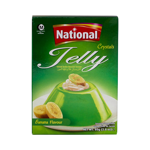 Indian grocery online - National Jelly Banana Flavour 80G - Cartly