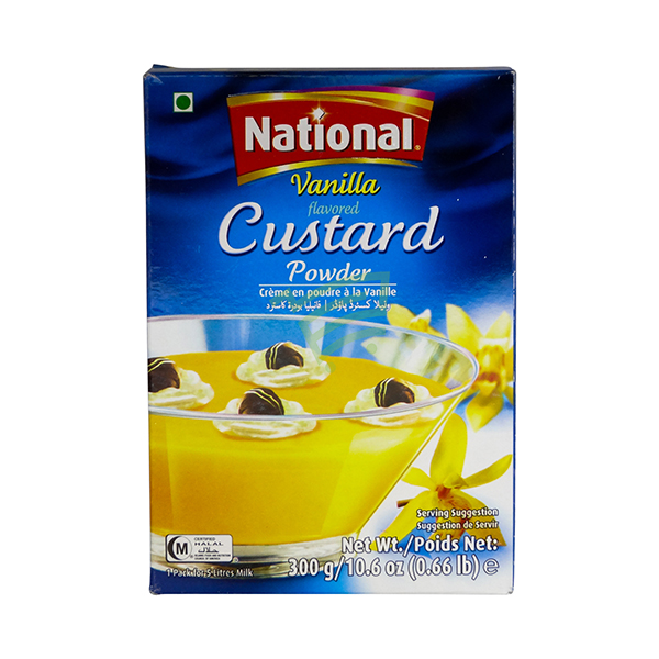 Indian grocery online - National Custard Powder Vanilla 300G - Cartly