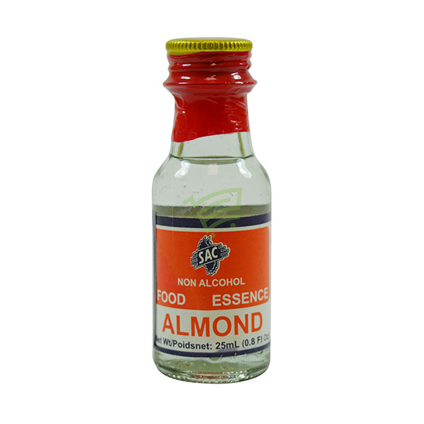 Indian grocery online - SAC Food Essence Almond 25Ml - Cartly