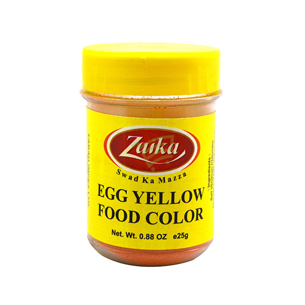 Indian grocery online - Zaika Food Colour Yellow 25G - Cartly