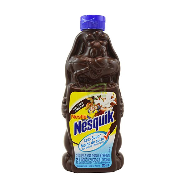 Indian grocery online - Nestle Nesquik Chocolate Syrup 510Ml - Cartly