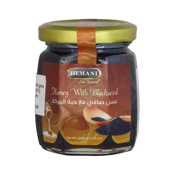 Indian grocery online - Hemani Honey With Blackseed 125G - Cartly