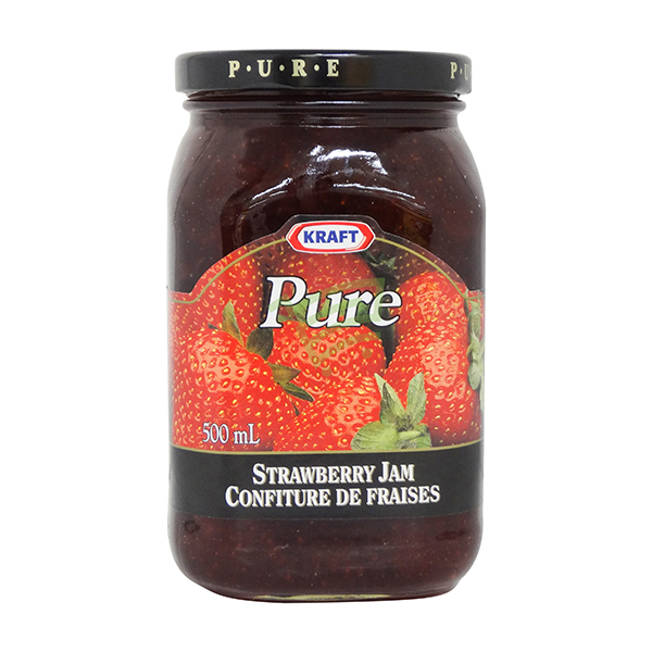 Indian grocery online - Kraft Strawberry Jam 500Ml - Cartly