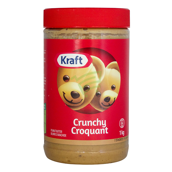 Indian grocery online - Kraft Crunchy Peanut Butter 1Kg - Cartly