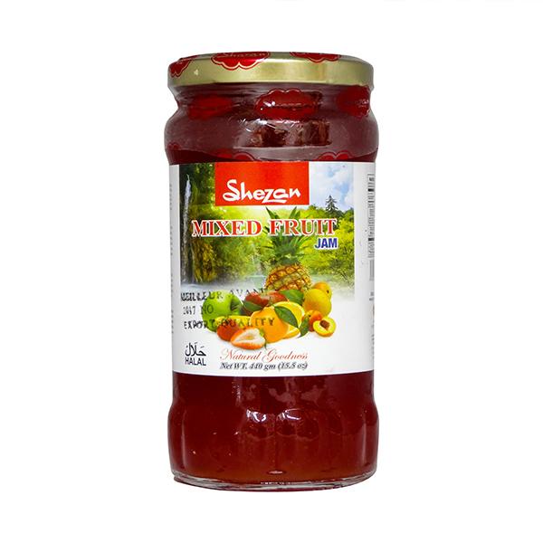Indian grocery online - Shezan Mixed Fruit Jam 440G - Cartly