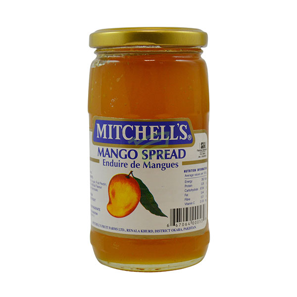 Indian grocery online - Mitchell's Jam Mango 450G - Cartly