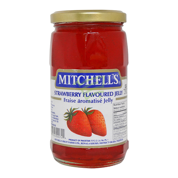 Indian grocery online - Mitchell's Strawberry Jelly 450G - Cartly