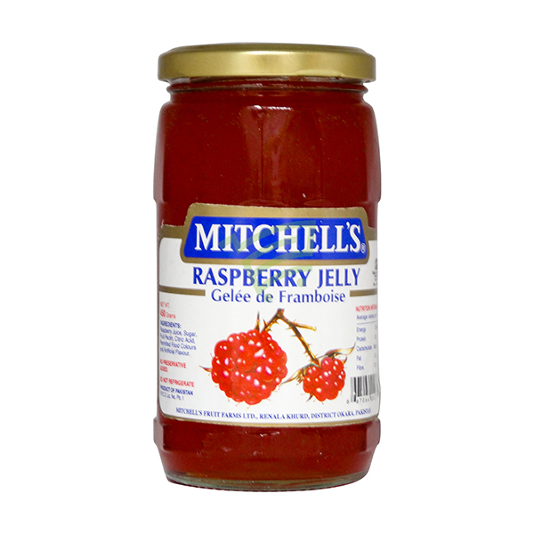 Indian grocery online - Mitchell's Jelly Raspberry 450G - Cartly