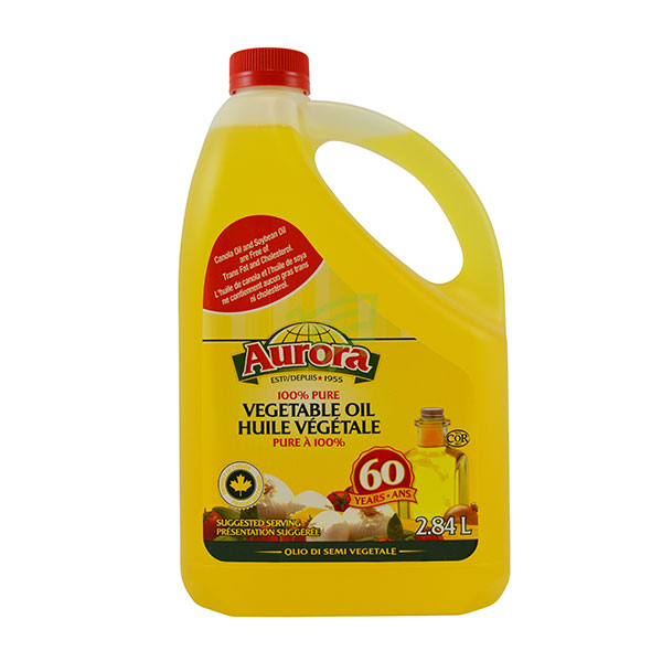 Indian grocery online - Aurora Vegetable Oil 2.84L - Cartly