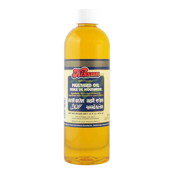 Indian grocery online - Kissan Mustard Oil 474ml - Cartly