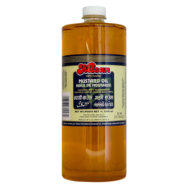 Indian grocery online - Kissan Mustard Oil 1L - Cartly