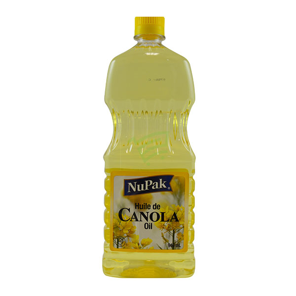 Indian grocery online - Nupak Canola Oil 946 Ml - Cartly