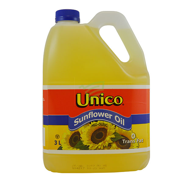 Indian grocery online - Unico Sunflower Oil 3L - Cartly