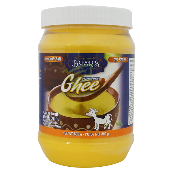 Indian grocery online - Brar's Desi Ghee 800G - Cartly