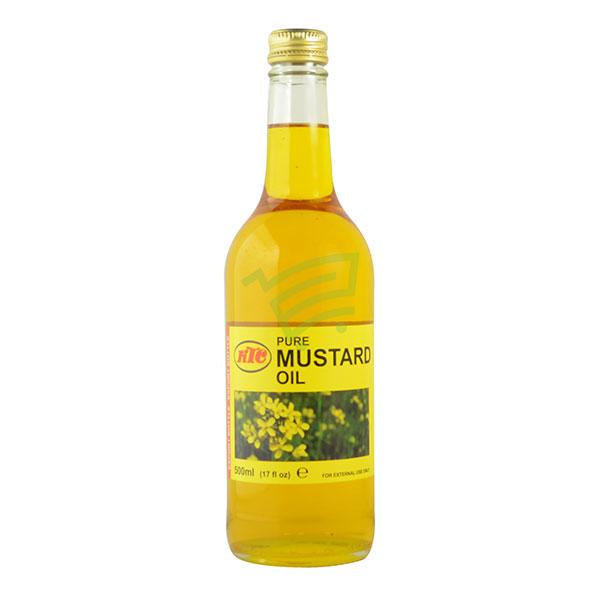 Indian grocery online - KTC Mustard Oil 500ml - Cartly