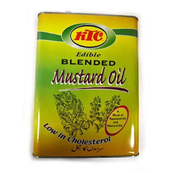 Indian grocery online - KTC  Pure Mustard Oil 4L - Cartly