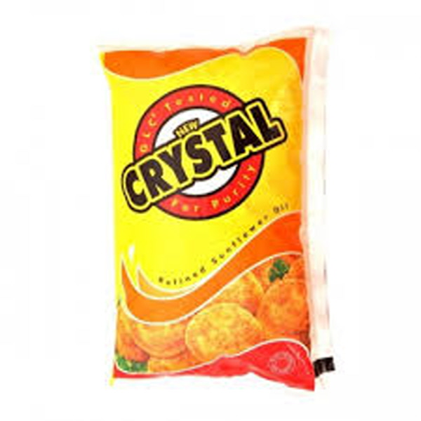 Indian grocery online - Crystal sunflower oil 1ltr - Cartly