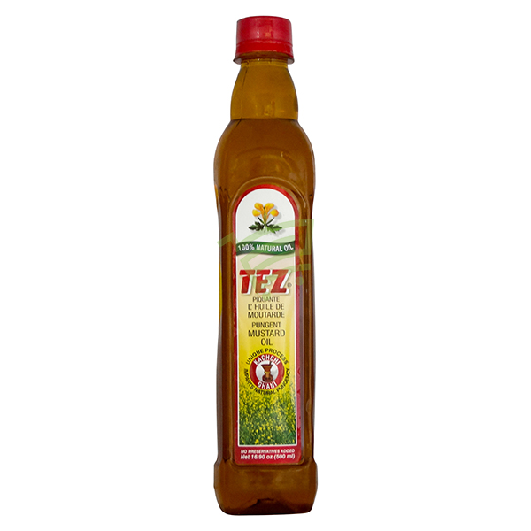 Indian grocery online - Tez Musturd Oil 500Ml - Cartly