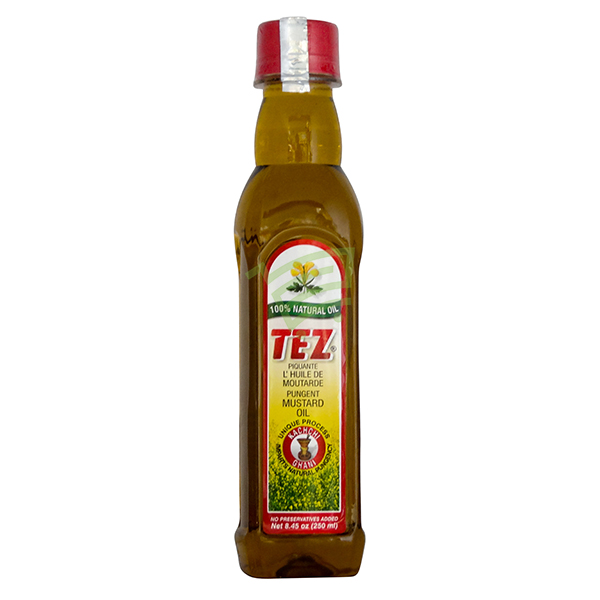 Indian grocery online - Tez Mustard Oil 250Ml - Cartly