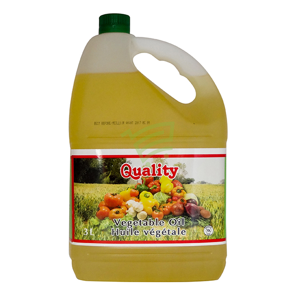 Indian grocery online - Quality Vegetable Oil 3L - Cartly