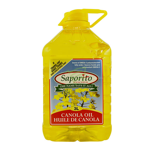 Indian grocery online - Saporito Canola Oil 3L - Cartly